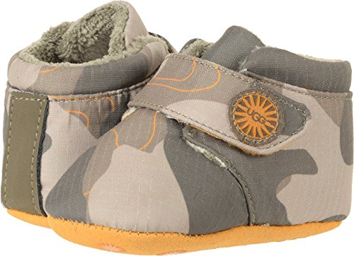 UGG Kids Unisex Bixbee Camo (Infant/Toddler) Slate Shoe