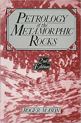 R. Mason - Petrology Of The Metamorphic Rocks