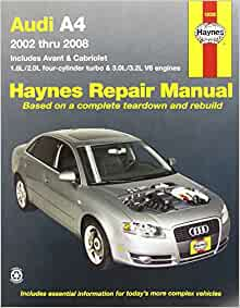 audi a4 haynes manual download free