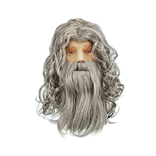 Morris Costumes Wizard Set Spb Grey