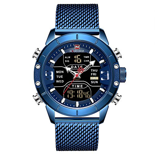 NAVIFORCE Digital Watch Men
