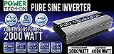 2000 Watt Portable Generator - Power TechON PS1003 Pure Sine Wave Inverter (2000w Cont/4000w Peak)