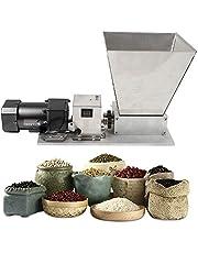 Kaibrite 75 omw/min elektrische graanmolen, 40 W, grain crusher, moutmolen, roestvrij staal, wals, grain crusher, maximale graan 4 kg