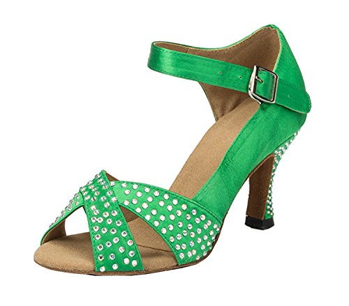 bal 5cm Miyoopark Green 7 femme heel de Salle 4nqxWqya1B