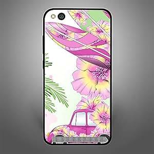 Xiaomi Redmi 5A Pink Car n Leaves