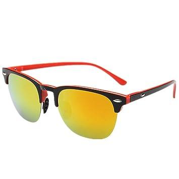 MNII Gafas de sol polarizadas Imitación de aluminio de ...