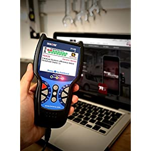 "Innova 3140g Code Reader / Scan Tool with 3.5"" Display, ABS, Bluetooth, and Live Data for OBD2 Vehicles with OBD1 Coverage"