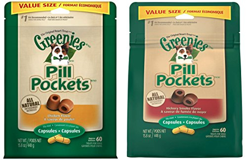 Greenies Pill Pockets Treats for Dogs 15.8oz Value Packs