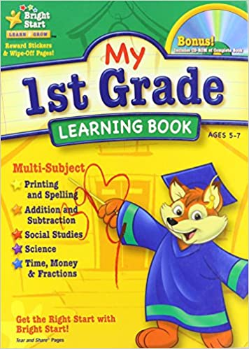 My 1st Grade Learning Book: Bright Start: 9781403751973: Amazon ...