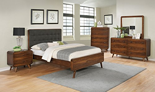 Coaster Home Furnishings 205131Q Panel Bed, 63.25