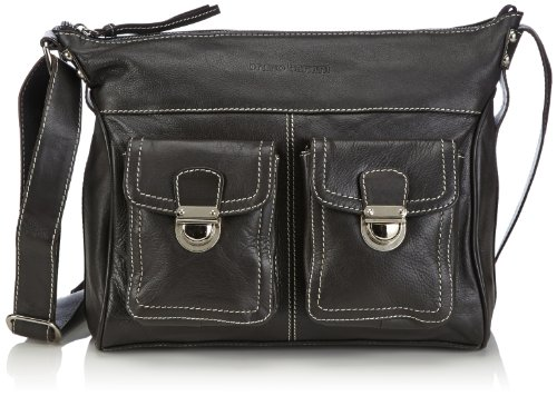 Bruno Banani Shoulder Bag HTL 320.1820, Borsa a tracolla Donna Marrone (Braun (Braun)
