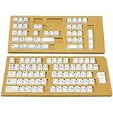東プレ キーキャップセット REALFORCE108KT1 PBT製 Realforce日本語配列108キーセット 昇華印刷 ホワイト SA0100-KT1