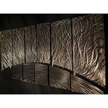 Amazon.com: Contemporary metal wall art. Wall Sculptures by Ash Carl ...