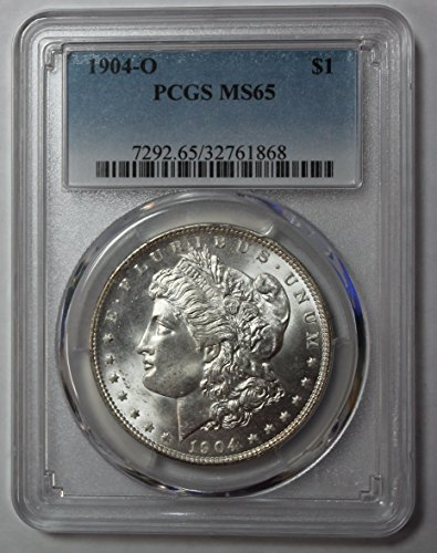 1904 O Morgan Silver Dollar $1 MS65 PCGS