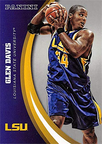 Glen Davis basketball card (LSU Tigers) 2015 Panini Team Collection #17 Silver Edition
