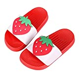 Cute Bath Slippers Colorful Fruit Beach Sandals Shower Shoes for Adults and Kids RD22