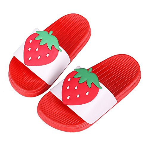 Cute Bath Slippers Colorful Fruit Beach Sandals Shower Shoes for Adults and Kids RD18