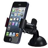 51XZ9mldaTL. SL160  - Aobiny Universal Car Windshield Mount Holder For iPhone 5S 5G 4S iPod GPS BK