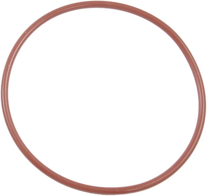 sourcing map Anillos de sellado de aceite 10 Piezas 65mm x 60mm x 2.5mm O-ring de silicona