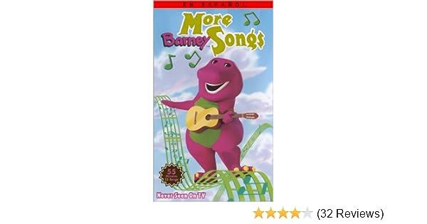 Amazon com: Barney - More Barney Songs (En Español) [VHS