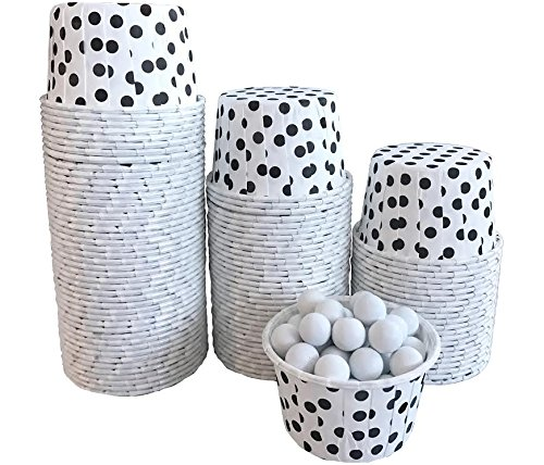 mini baking cups dots - 5