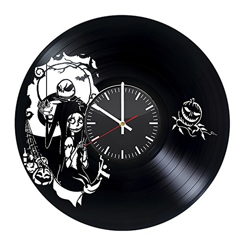 [Black Decorative Large Wall Clock – Vinyl Record Wall Clock - Fantasy Wall Art Design – Cool Gift Idea For Friends, Siblings – Best Goods For Home] (Sally From Cars Costume)