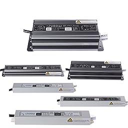 Shopantic(TM) LED Driver Power Supply Lighting Transformer Adapter DC 24V 30W Waterproof Input AC170-250V IP67 for LED Strip LD497
