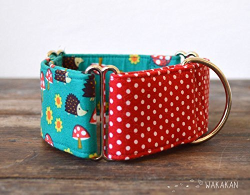 Collar Martingale Para Perro: Forest Friends, Hecho a Mano en ...