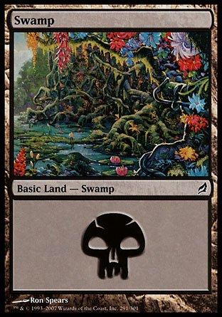 Magic: the Gathering - Swamp (291) - Lorwyn