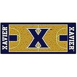 Fanmats NCAA Xavier University Musketeers Nylon Face Basketball Court Runner