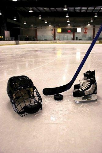 """Hockey Equipment II Wall Decal 16""""x24"""""""