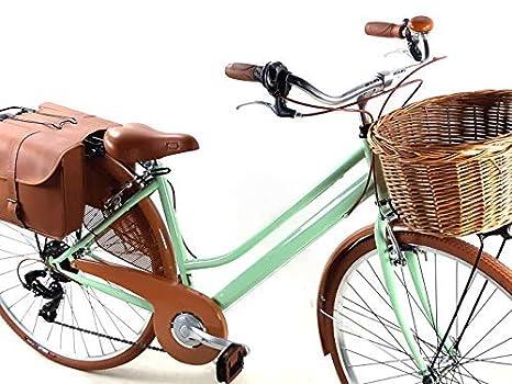 Bicicletta Donna Retrò Vintage City Bike Ruote 28 Con Cambio