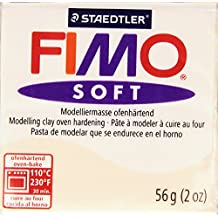 Staedtler Fimo Soft Polymer Clay 2 Ounces-8020-43 Flesh Light