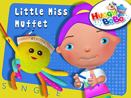 Little Miss Muffet Nursery Rhymes By HuggyBoBo