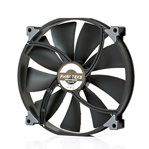 (Phanteks PH-F200SP_BBK, 200mm Premier Case Fan, Frame/Blades, Black)