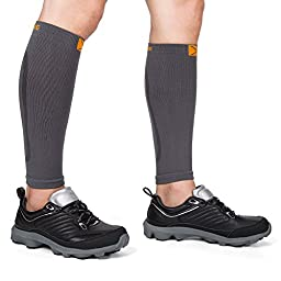 NOOYME Calf Compression Sleeves Leg Compression Socks for Men and Women (Pair)
