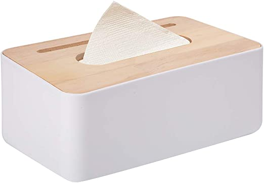 Caja de Pañuelos Soporte de pañuelos Creative Deco Caja Pañuelos Papel Dispensador de Toallas de Papel Caja del Tejido Rectangular Multifunción para la oficina en casa baño decoración de Automotive: Amazon.es: Hogar