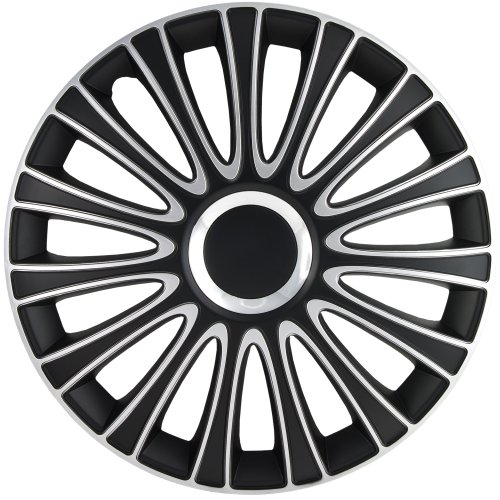 Alpena 59916 Black Silver Wheel Cover product image