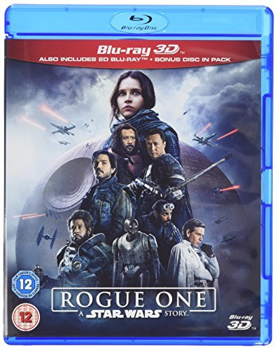 Rogue One: A Star Wars Story [Blu-ray 3D] [2017] [Region Free] (Best Price On Lg Oled Tv)