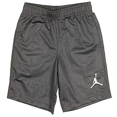 - Jordan Little Boys Mesh Athletic Shorts (7, Dark Grey)