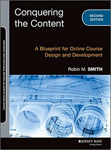 Conquering the content a blueprint for online course design and conquering the content a blueprint for online course design and development jossey bass guides to online teaching and learning robin m smith malvernweather Images
