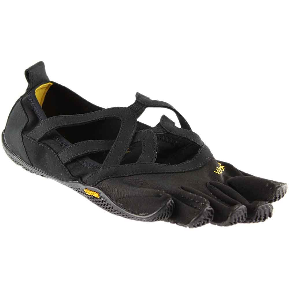 Vibram Women's Alitza Loop Fitness Yoga Shoe, Black, 38 EU/6.5-7 M US