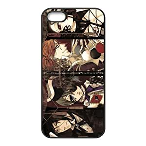 Black Butler Book of Circus Custom Design Apple Iphone 5 5s Hard Case Cover phone Cases Covers
