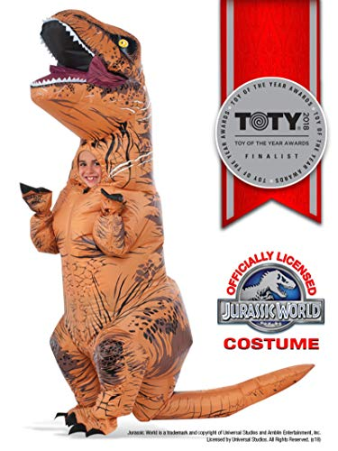 Rubie's Costume Jurassic World Child's T-Rex Inflatable Costume with Sound, ()