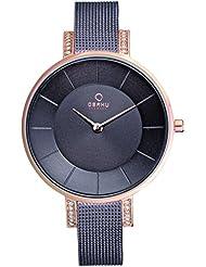 OBAKU V158LEVNMN Womens Wrist Watches, Classic Analog Watch with 2 Hands