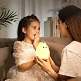 Litake LED Night Light, Battery Powered Silicone