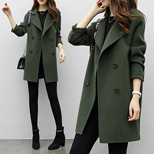 Parka Women Overcoat Casual Cotton inverno Somesun Capispalla Donna Autunno Outwear Cardigan Cardigan Slim Giacca Army Green Jacket Coat qFrFxw4t