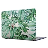 Onkuey MacBook Pro 13 Case 2018 & 2017 & 2016 Plastic Glossy Clear See Through Hard Shell Cover for MacBook Pro 13.3