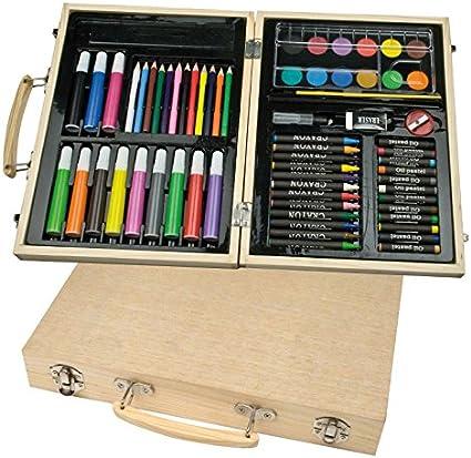 malkoffer Paint caja 66 con 11 utensilios – Malset de 66 piezas ...