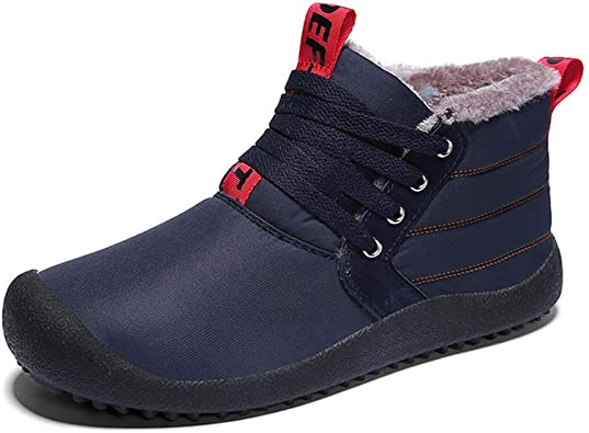 Mens Snow Boots Warm Winter Boots